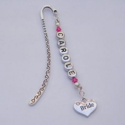 Bride Personalised Bookmark